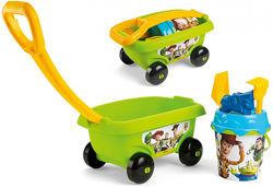 Тележка История игрушек с набором для игры с песком, Smoby 867010