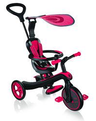 Детский велосипед Globber Explorer Trike 4в1, красный - арт. 632-102