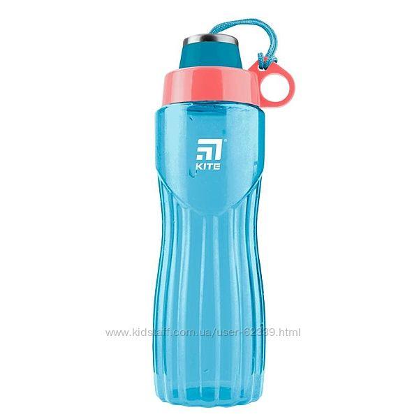 Бутылочка для воды Kite 800 мл, бирюзовая k20-396-02