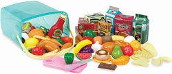 Игровой набор Корзинка с продуктами, 79 предметов - Battat PC2210Z