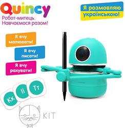 Обучающий робот-художник Квинси Quincy, украинский язык