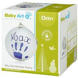 Рождественский шар с отпечатком ручки малыша Baby Art - 5 видов
