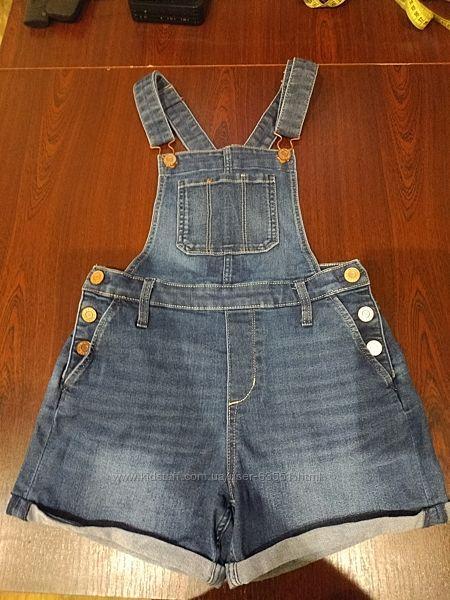 Полукомбинезон джинсовый H&M