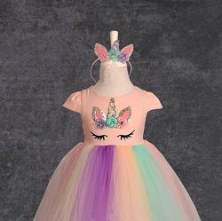 Плаття Єдинорог 98 розмір