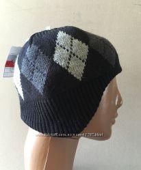 Утепленные флисом шапочки для мальчиков от C&A Германия разм 92-122, 122-152