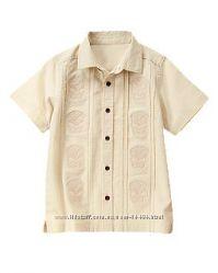 Льняная рубаха Crazy8 с вышивкой