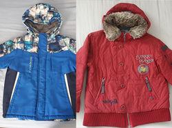 Куртки демисезон, теплая зима - 4 шт мальчикам