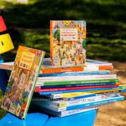 Виммельбухи - книги, которые мельтешат. Городок. Виммельбухи из Германии