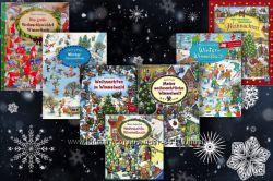 Рождественско-новогодние виммельбухи