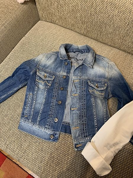 Джинсовая курточка Pepe jeans оригинал