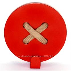 Оригинальный настенный крючок Glozis Button Red.