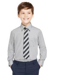 Рубашки школьные Marks&Spenser. Длинный рукав. 158-176.