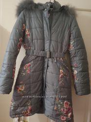 Пуховое пальто от Manudieci 14 лет