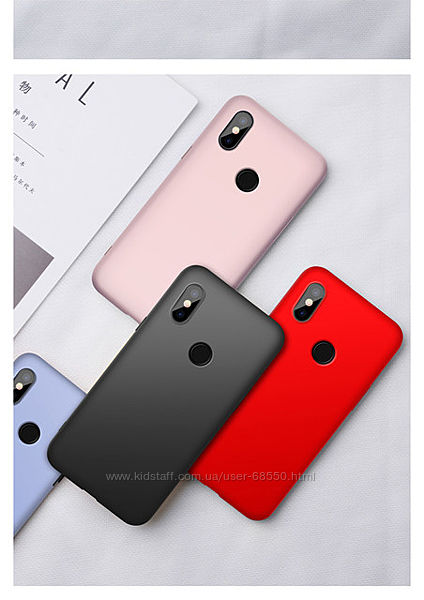 Чехол Xiaomi redmi note 6 розовый