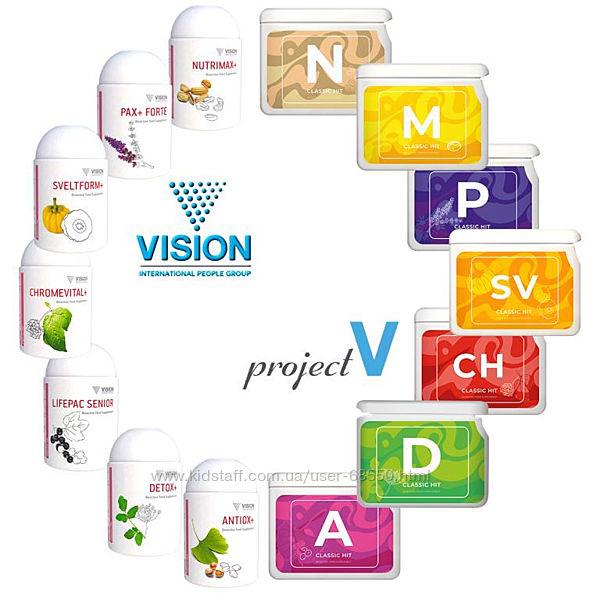 Витамины vision для всей семьи