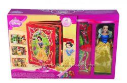 Disney Кукла Белоснежка и книга - игровой центр