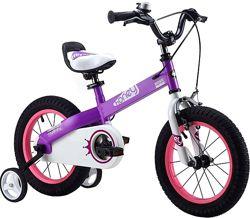 Детский велосипед 18 Royal Baby Honey Steel 16, 18
