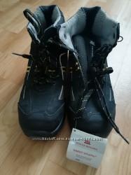Ортопедические кожаные ботинки, стелька 24 см