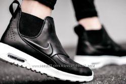 Шкіряні високі кросівки Nike WMNS Air Max Thea Mid. Оригінал 23. 5см