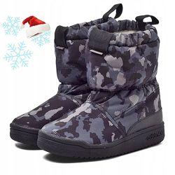 Утеплені сапоги Adidas Slip-on boot. Оригінал 29,  35