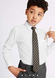 белоснежные рубашки Marks & Spencer первокласнику