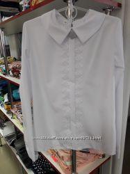 Блузки для девочек р . 134, 140, 146, 152