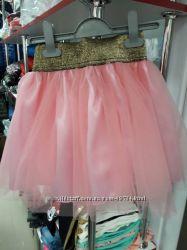 Нарядная юбка для девочки р. 86, 92, 98, 104, 110