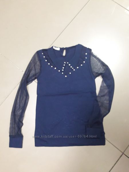 Трикотажные блузки Benini р. 140, 146, 152