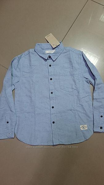 Рубашка Mango оригинал Польша  р.122,128