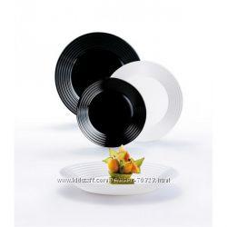 сервиз люминарк Harena black& white