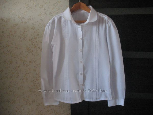 Блуза в школу   , Mothercare, 134-140р