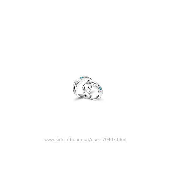 Кольцо серебряное , 925 Forever, 17 и 18р -можно паре, как обручальные