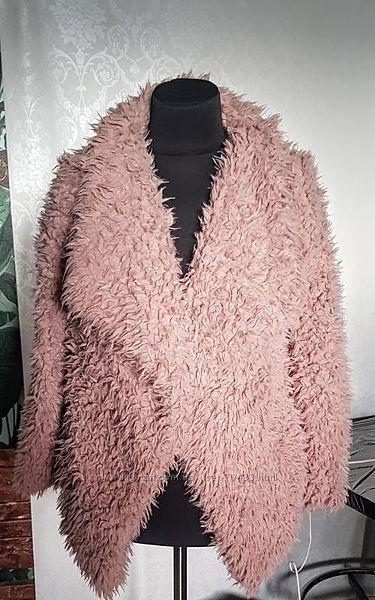Модная меховая курточка zara