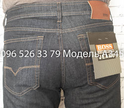 Джинсы Boss Сине-Серые A345 р-ры 33, 36, 36, 38, 40