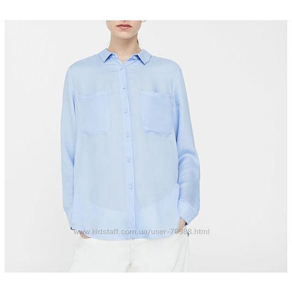 Рубашка женская Mango 100 вискоза размер XS