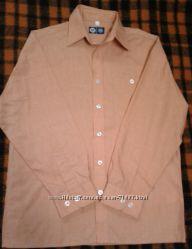 Новая школьная рубашка C&A 146 см