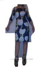 Платье DOLCE & GABBANA с итал. ткани-М