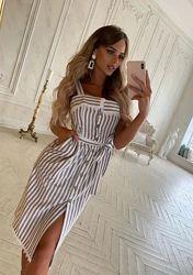 Новое платье на лето с биркой 46