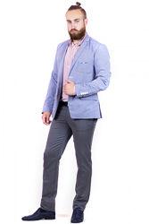 Модный пиджак из натуральной ткани
