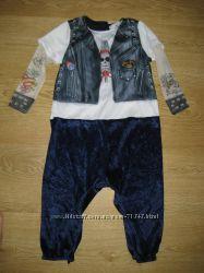Смешнючие костюмы 6-12мес  для малыша