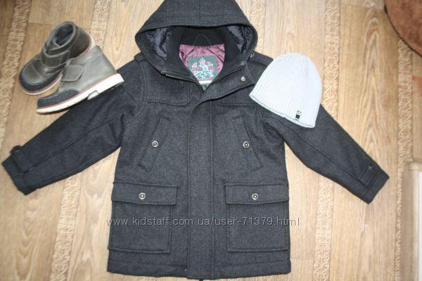 Мега красивое пальто NEXT, 110 - 116 рост. В идеальном состоянии