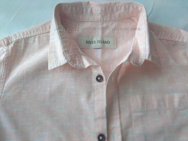 Рубашка с коротким рукавом River Island, 10-11 лет