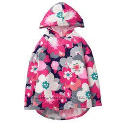 туника с капюшоном Floral Hooded Tunic Gymboree Л на 10-11лет