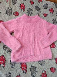 Пухнаста, мяка кофта для дівчинки  146-152