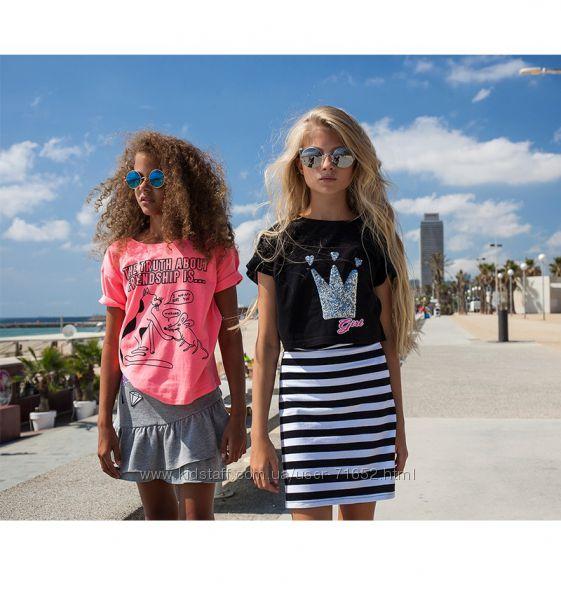 футболки для девочек REPORTER YOUNG лето 2018