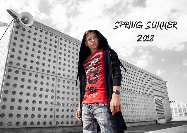 футболки для мальчиков REPORTER YOUNG лето 2018