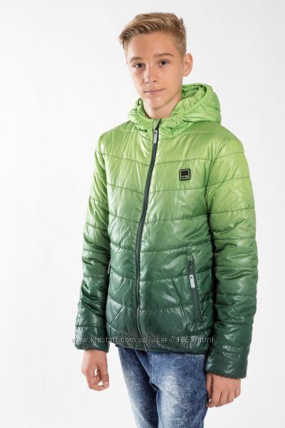 REPORTER YOUNG деми куртка GREEN для мальчиков