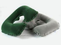 BESTWAY 67006 надувная подушка - подголовник. Зеленая и серая.