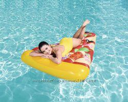 BESTWAY 44038, Надувной плотик пицца, 188X130см