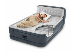 INTEX 64448, надувная кровать с изголовьем